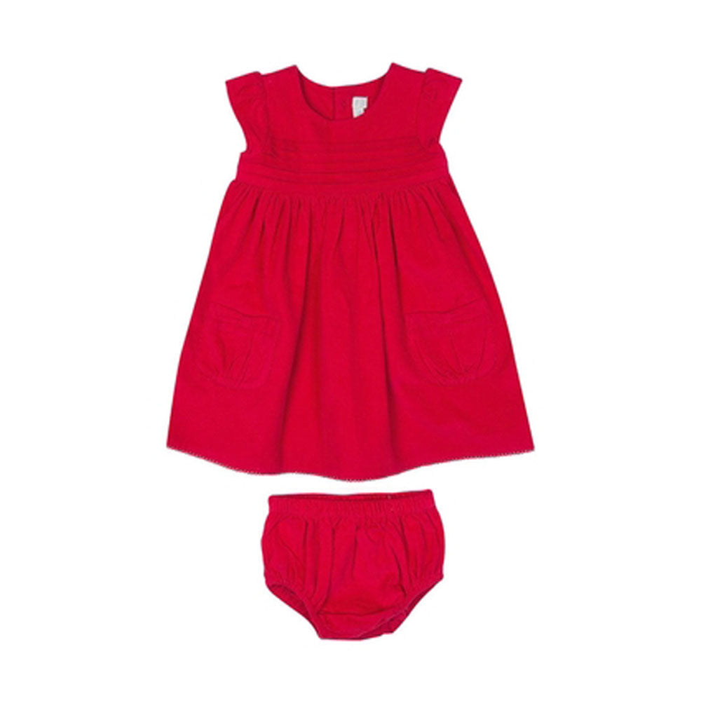 Girls Red Baby Party Dress
