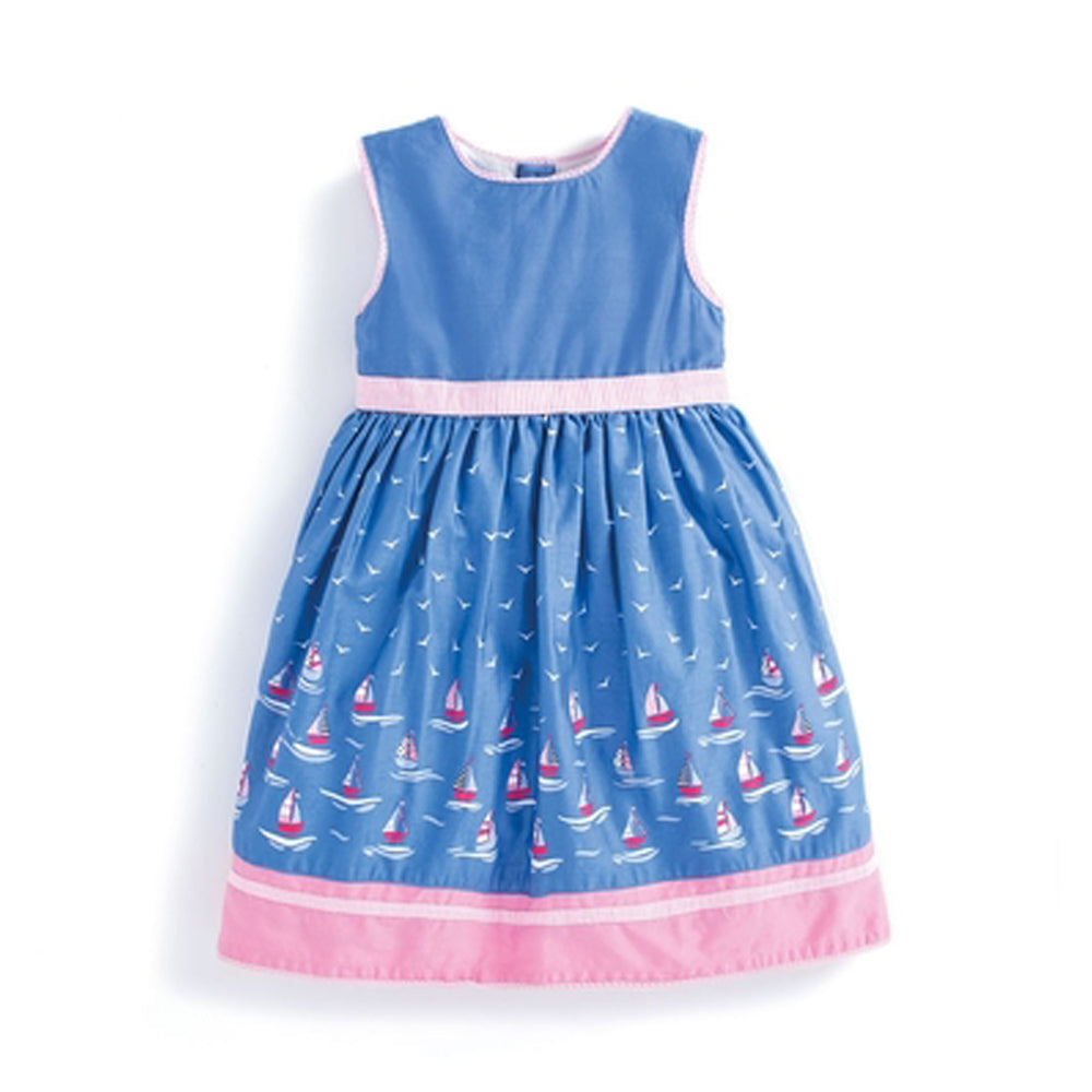Girls Sailboat Party Dress