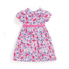Girls' Floral Party Dress