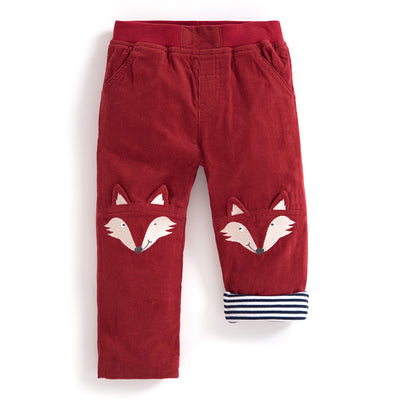 Boys Fox Cord Trousers