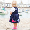 Navy Dinosaur Jumper Dress