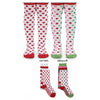 Girls Holiday Dot Tights