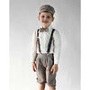 Boys Vintage Plaid 5-pc Knicker Pant Set