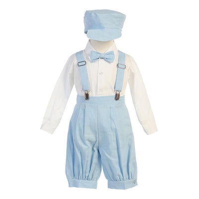 Boys Suspender Knickers & Hat