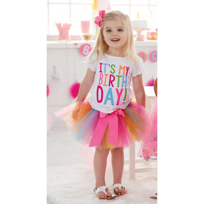 Girls It's My Birthday Tutu Set