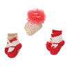 Holiday Mary Jane Sock Set