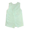 Baby Boys Green Bunny Applique Shortall