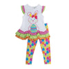 Bunny applique and Legging Set
