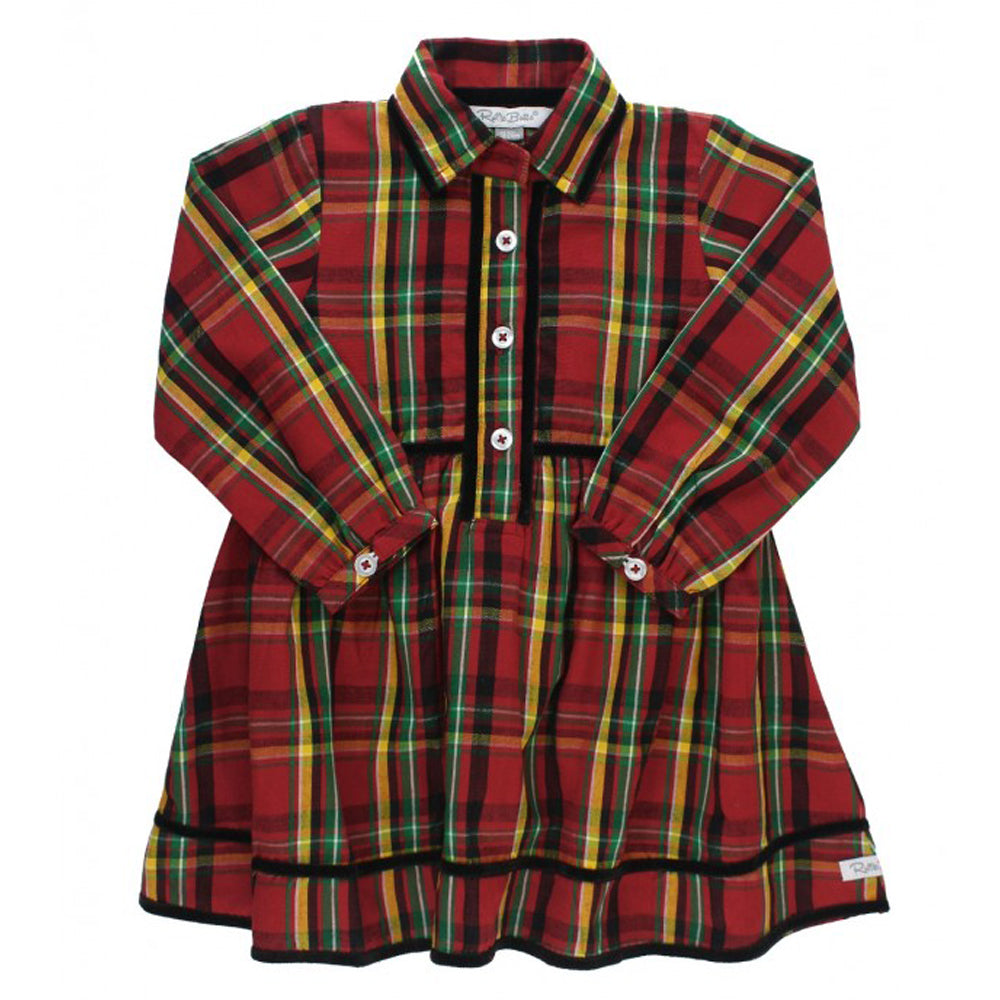 Remington Plaid Babydoll Dress