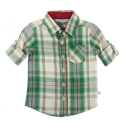 Hollis Plaid Button Down Shirt