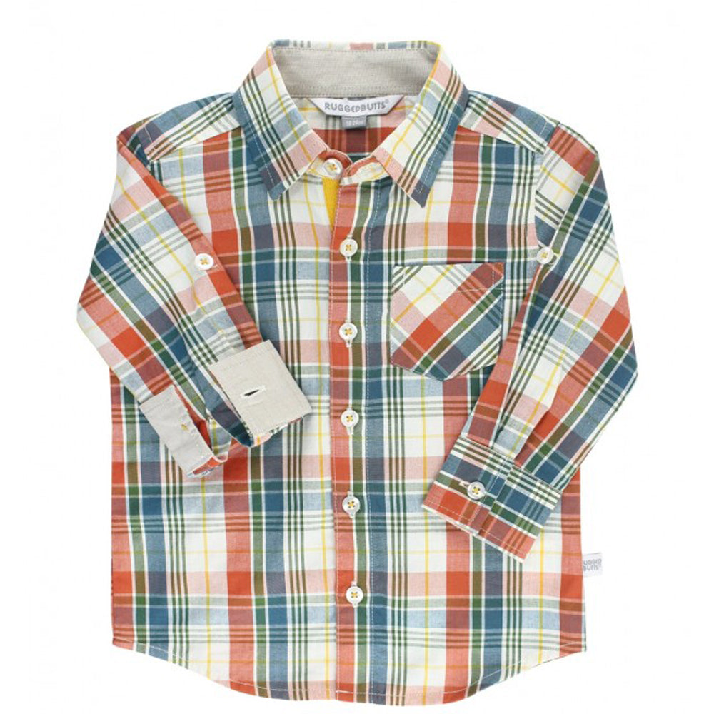 Miller Plaid Button Down Shirt