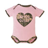 Army Cutie Pink Infant Bodysuit
