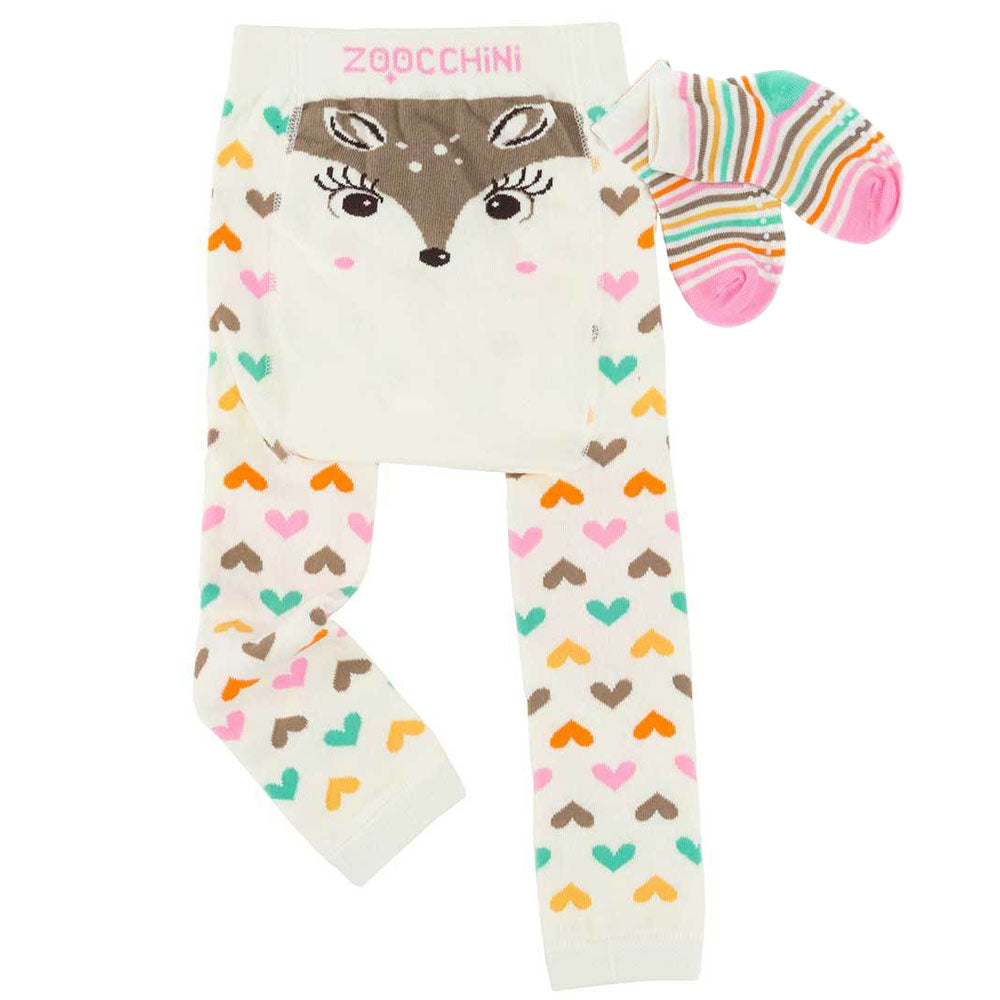 Fiona the Fawn Legging and Sock Set