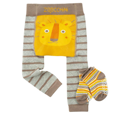 Leo the Lion Legging and Sock Set