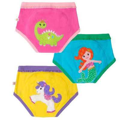 Fairy Tails ORGANIC Girls Potty Training Pant 3 pc Set