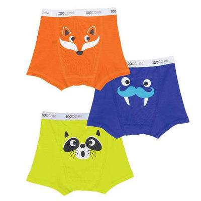Crazy Critters ORGANIC Boys Boxer 3 pc Set