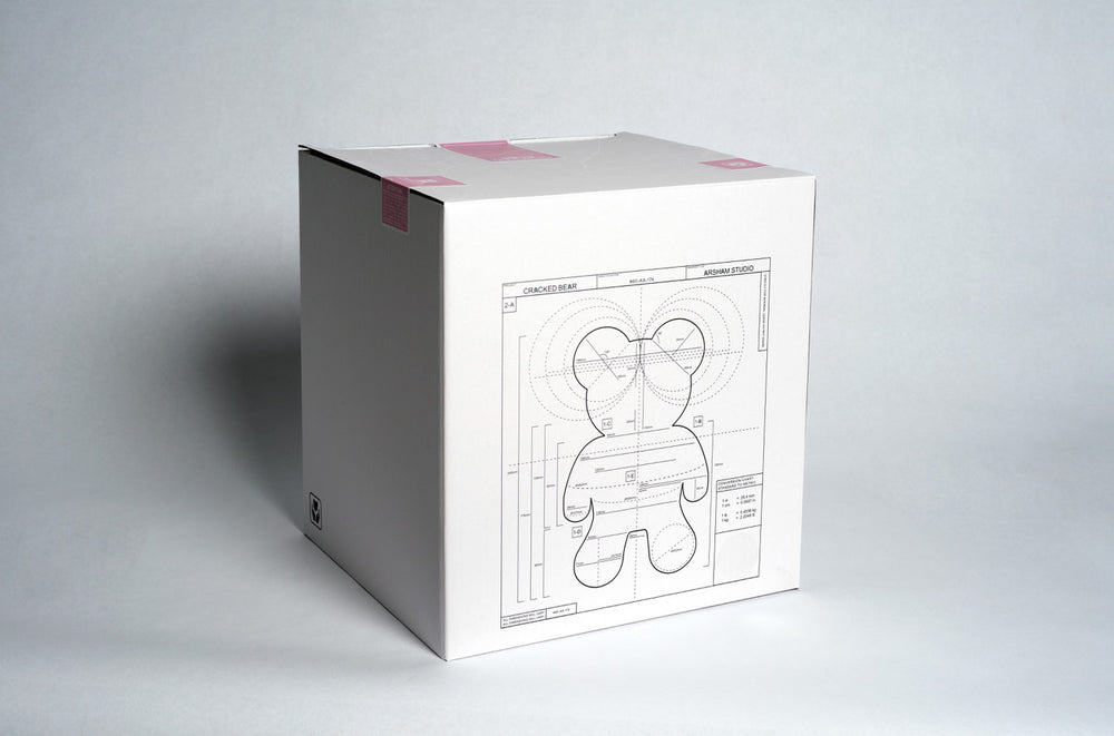 Load image into Gallery viewer, Cracked bear by Daniel Arsham