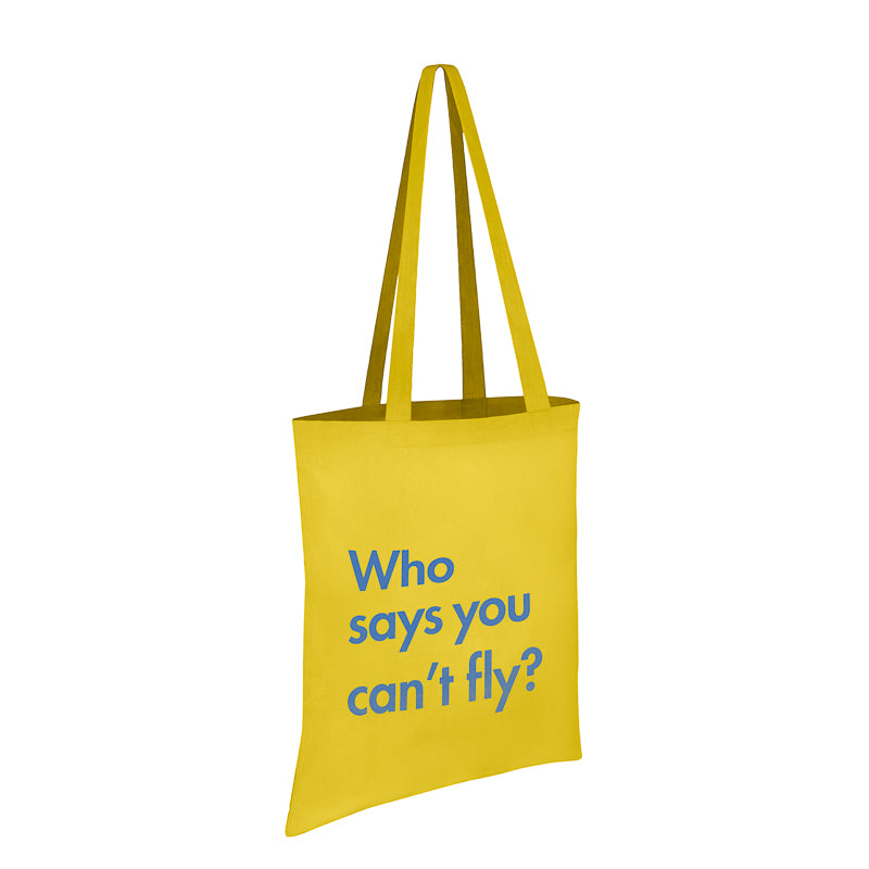 Load image into Gallery viewer, Who Says You Cant Fly – Totebag