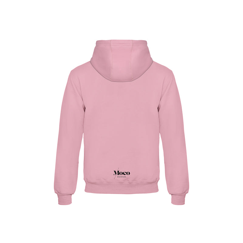 Load image into Gallery viewer, Pink Moco Museum Hoodie - In Art We Trust