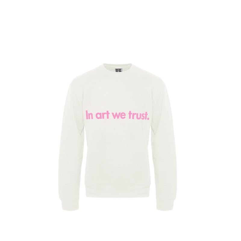 Load image into Gallery viewer, Moco Sweater White - In Art We Trust