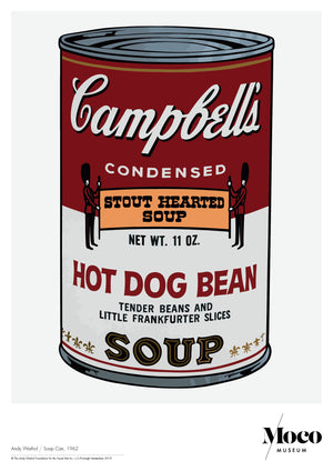 Poster A1: Andy Warhol - Campbells Soup Can