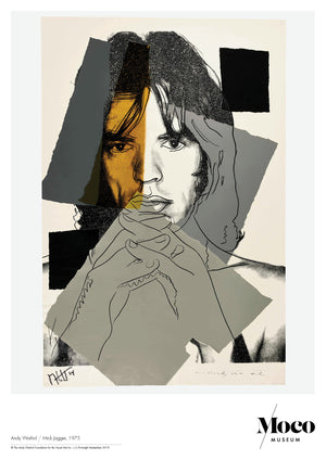 Load image into Gallery viewer, Poster a1: Andy Warhol - Mick Jagger