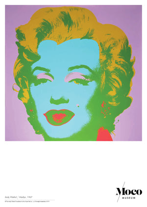 Load image into Gallery viewer, Poster A1: Andy Warhol - Marilyn