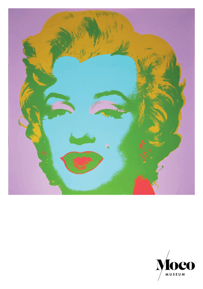 Postcards: set of 5 'Andy Warhol' postcards