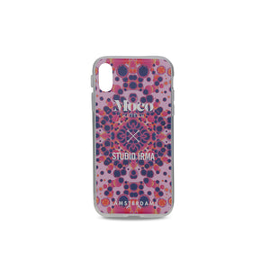 Load image into Gallery viewer, Moco x Studio Irma Iphone Case - Kaleidoscope Pink