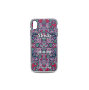 Load image into Gallery viewer, Moco x Studio Irma Iphone Case - Kaleidoscope Blue