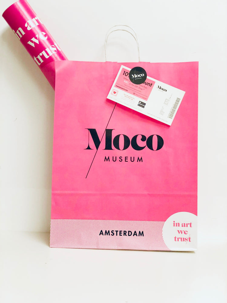 Moco gift package ( 1 entrance ticket & A1 poster of your choice)