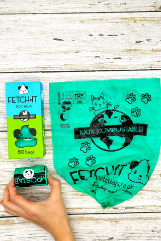 FETCH.IT Compostable Poo Bags Standard