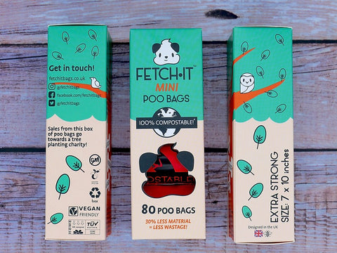 FETCH.IT Compostable Mini Poo Bag