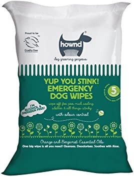 HOWND Yup You Stink Emergency Dog Wipes