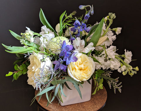 Touch of Blue Bouquet