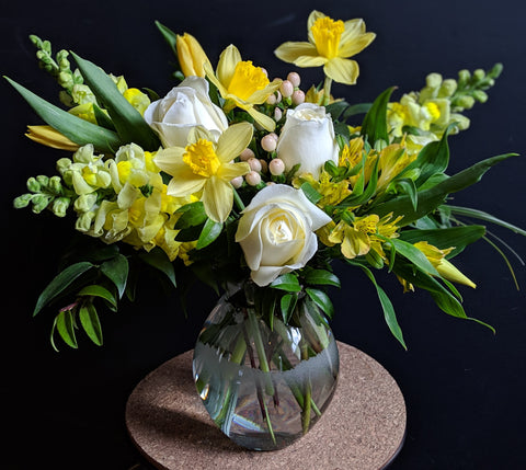 Delicate Yellow Bouquet