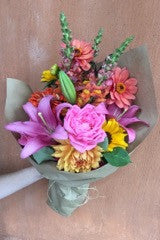 Colorful Handtied Bouquet