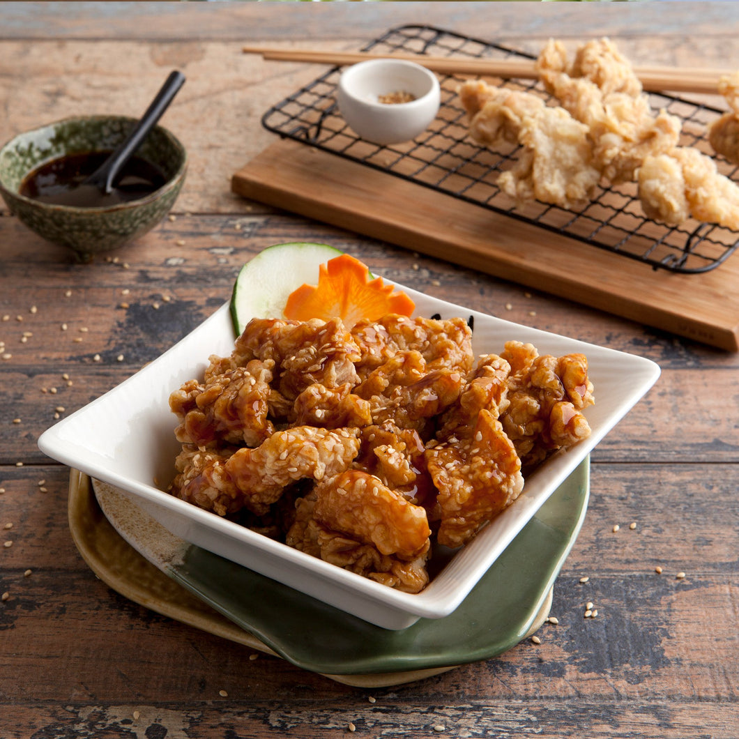 Crunchy Chicken teriyaki