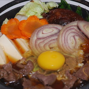 Sukiyaki (good for 2)