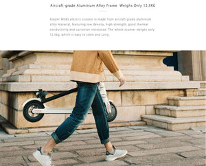 Xiaomi Mijia M365 - White (UK's Top Selling Electric Scooter)