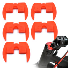 6 Piece Rubber Vibration Damper Set (Black Or Red)