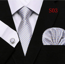Load image into Gallery viewer, Tie + Pocket Square + Cufflinks - Chancery Lane