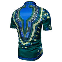 Load image into Gallery viewer, Collared Short sleeve Dashiki - Chancery Lane