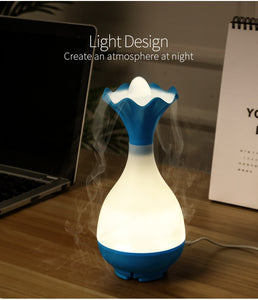 Ultrasonic USB Air Essential Oil Aroma Diffuser with LED Night Light - Worlds Abroad