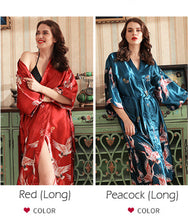 Load image into Gallery viewer, Satin Japanese Nightgown - Worlds Abroad