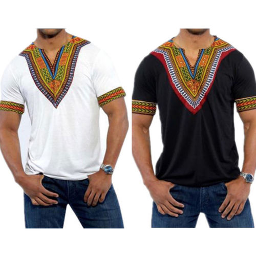 Short Sleeve Dashiki - Chancery Lane