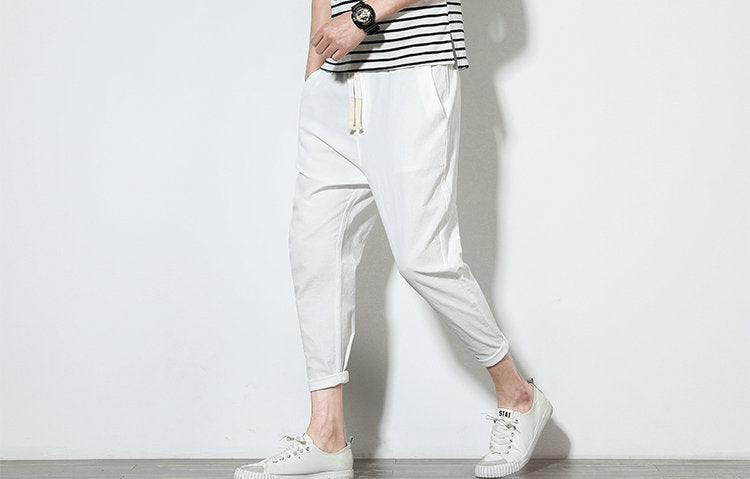 Cotton Summer Trousers - Worlds Abroad