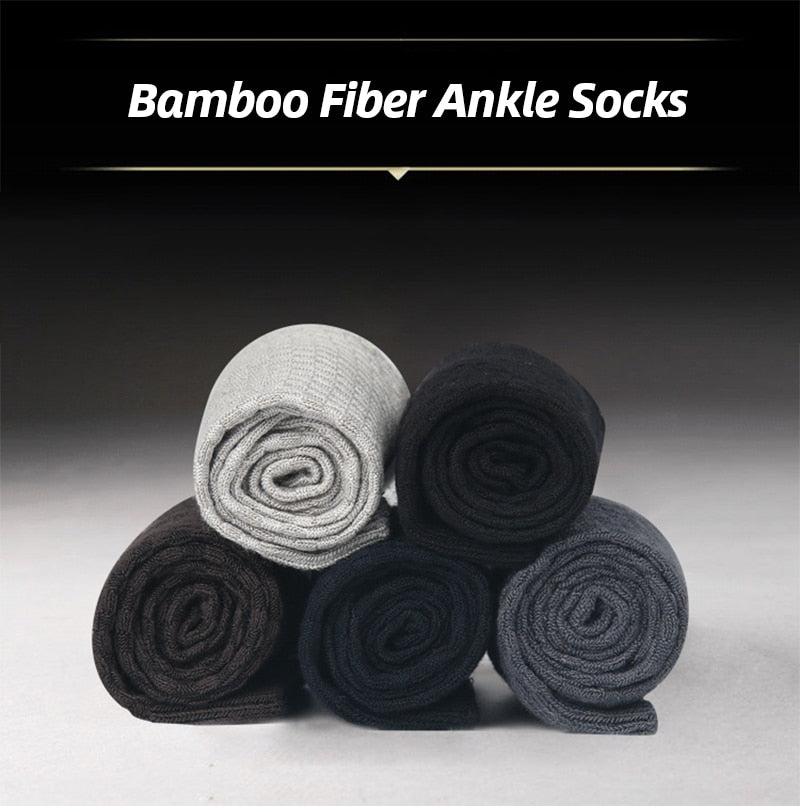 Bamboo Fiber Socks (Pack of 10) - Worlds Abroad