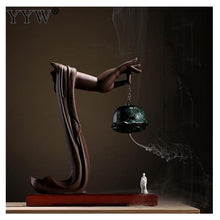 Load image into Gallery viewer, Ceramic Incense Burning Home Decoration Sculpture - Worlds Abroad
