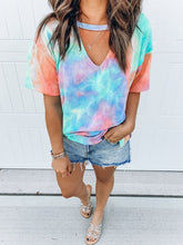 Load image into Gallery viewer, Tie Dye Tee - Worlds Abroad
